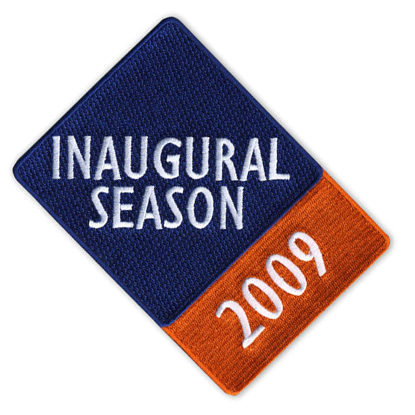 2009 New York Mets Inaugural Season Citi Field Patch