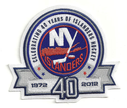 2011-12 New York Islanders 40th Anniversary Jersey Patch