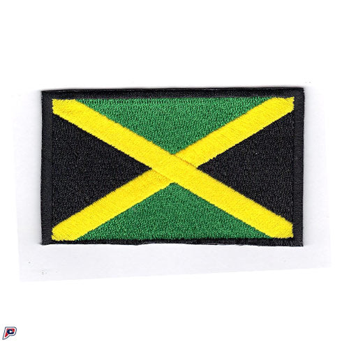 Jamaica Embroidered Country Flag Patch