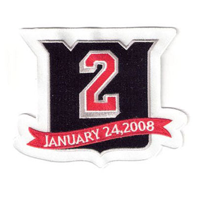New York Rangers Retirement patch Brian Leetch #2