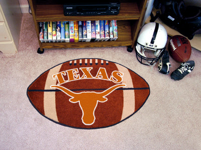 "University of Texas Longhorns Football Nylon Mat 22"" x 35"""