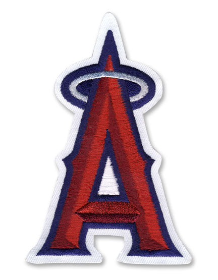 Los Angeles Angels of Anaheim 'A' Silver Halo Patch
