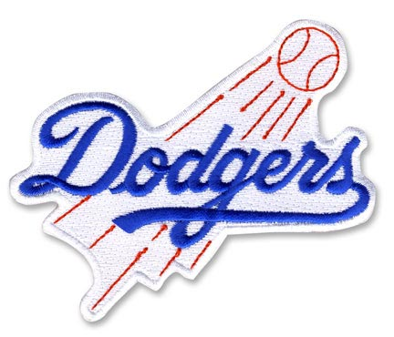 Los Angeles Dodgers Primary Team Logo Patch