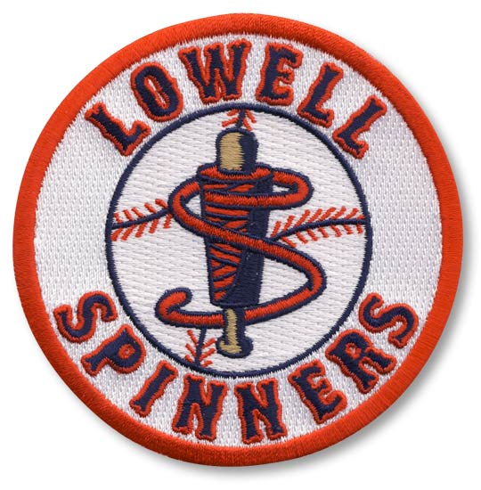 Lowell Spinners Primary Team Logo Patch