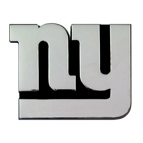 New York Giants Premium Solid Metal Chrome Plated Car Auto Emblem