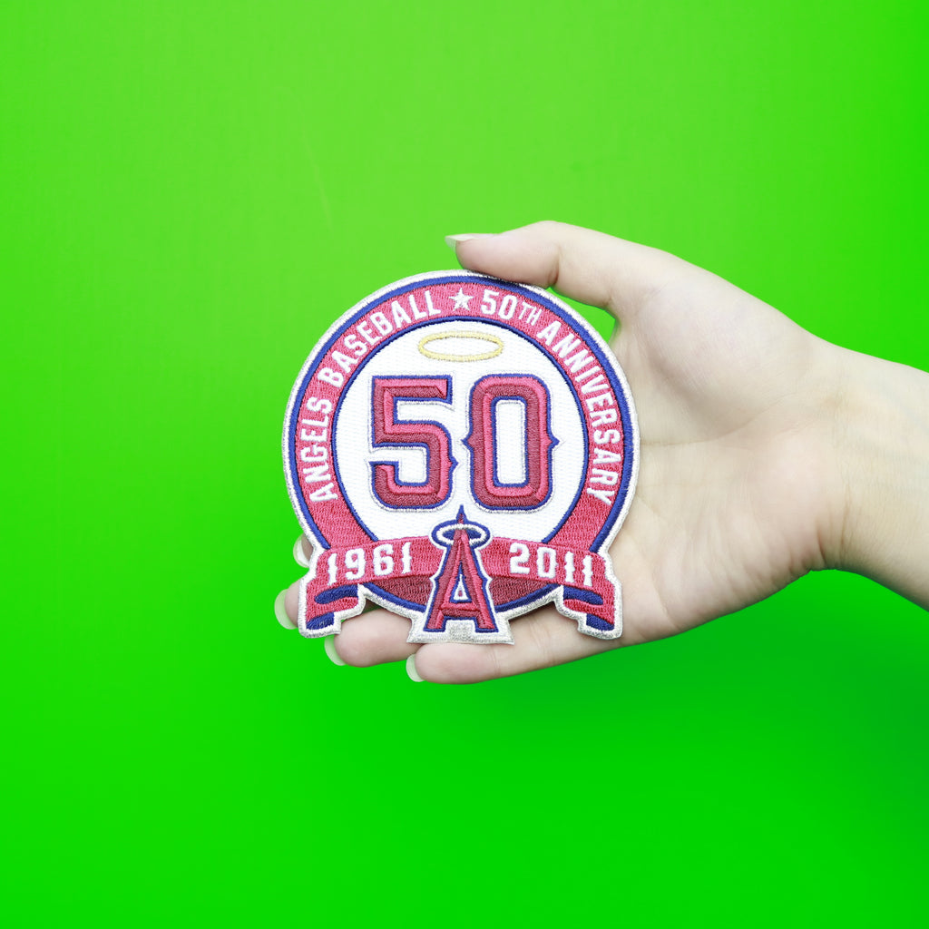 2011 Los Angeles of Anaheim Angels 50th Anniversary Patch