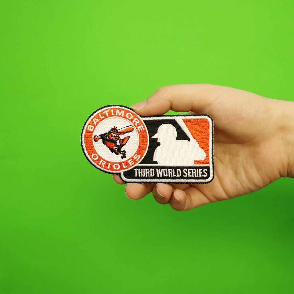 1970 Baltimore Orioles Third MLB World Series Championship Jersey Patch