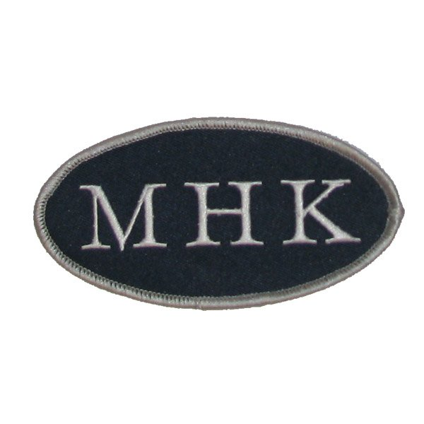 New England Patriots Myra H. Kraft 'MHK' Memorial Jersey Patch (2011)