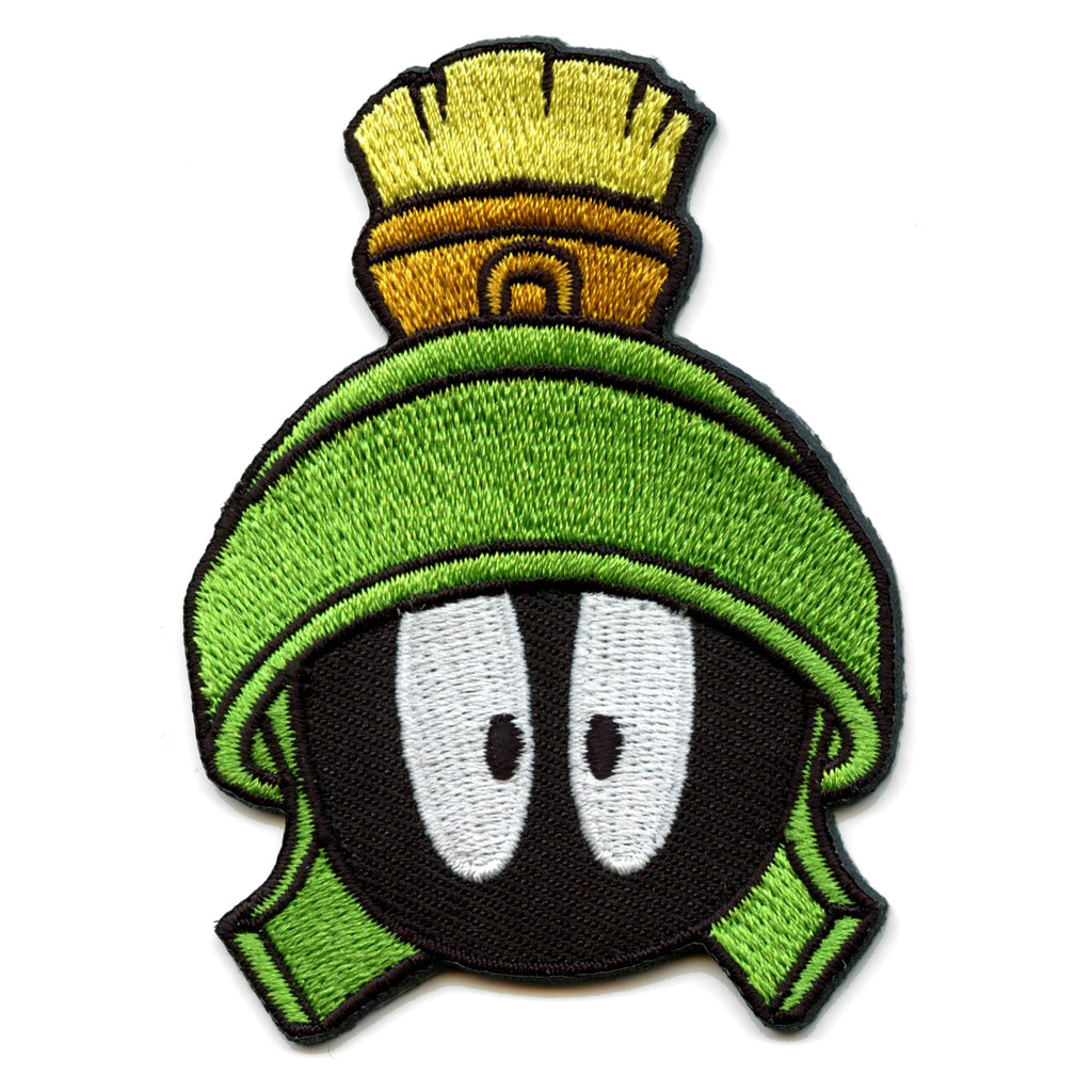 Official Marvin The Martian Embroidered Iron On Patch