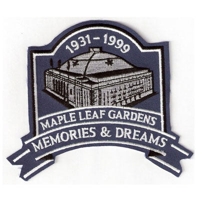 Toronto Maple Leafs Gardens Memories & Dreams Patch (1931-1999)