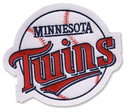 Minnesota Twins Round Old Primary Logo Patch (1987-2009)