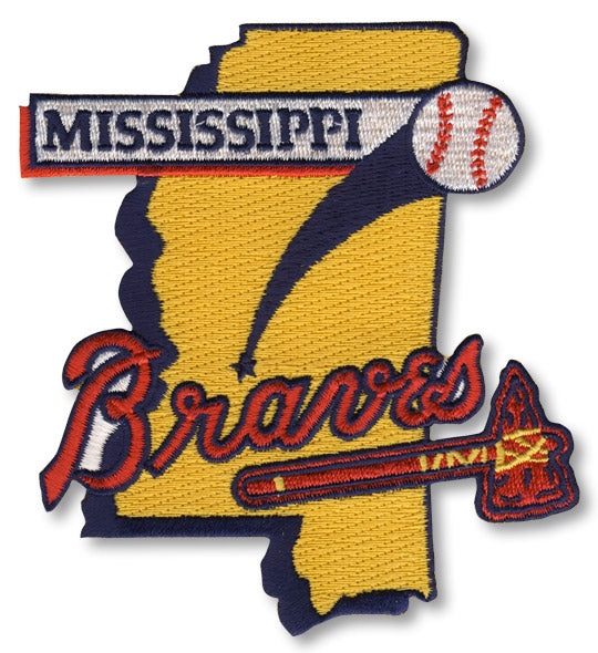 Mississippi Braves Minor League Primary Team Logo Patch