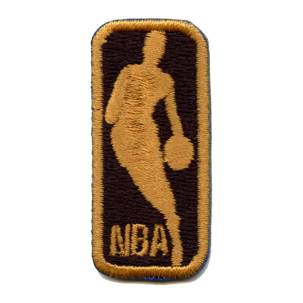 NBA 50th Anniversary Small Logo Jersey Patch Set Of 5 (Black)