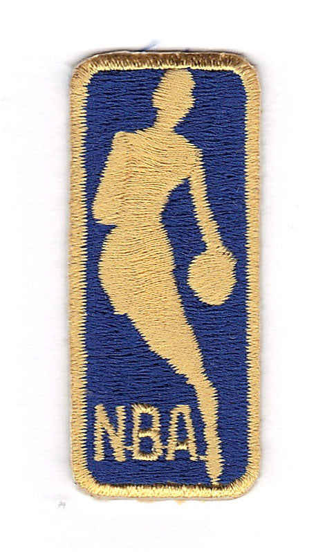 National Basketball Association NBA 50th Anniversary Small Gold Logo Jersey Patch (1996-97)