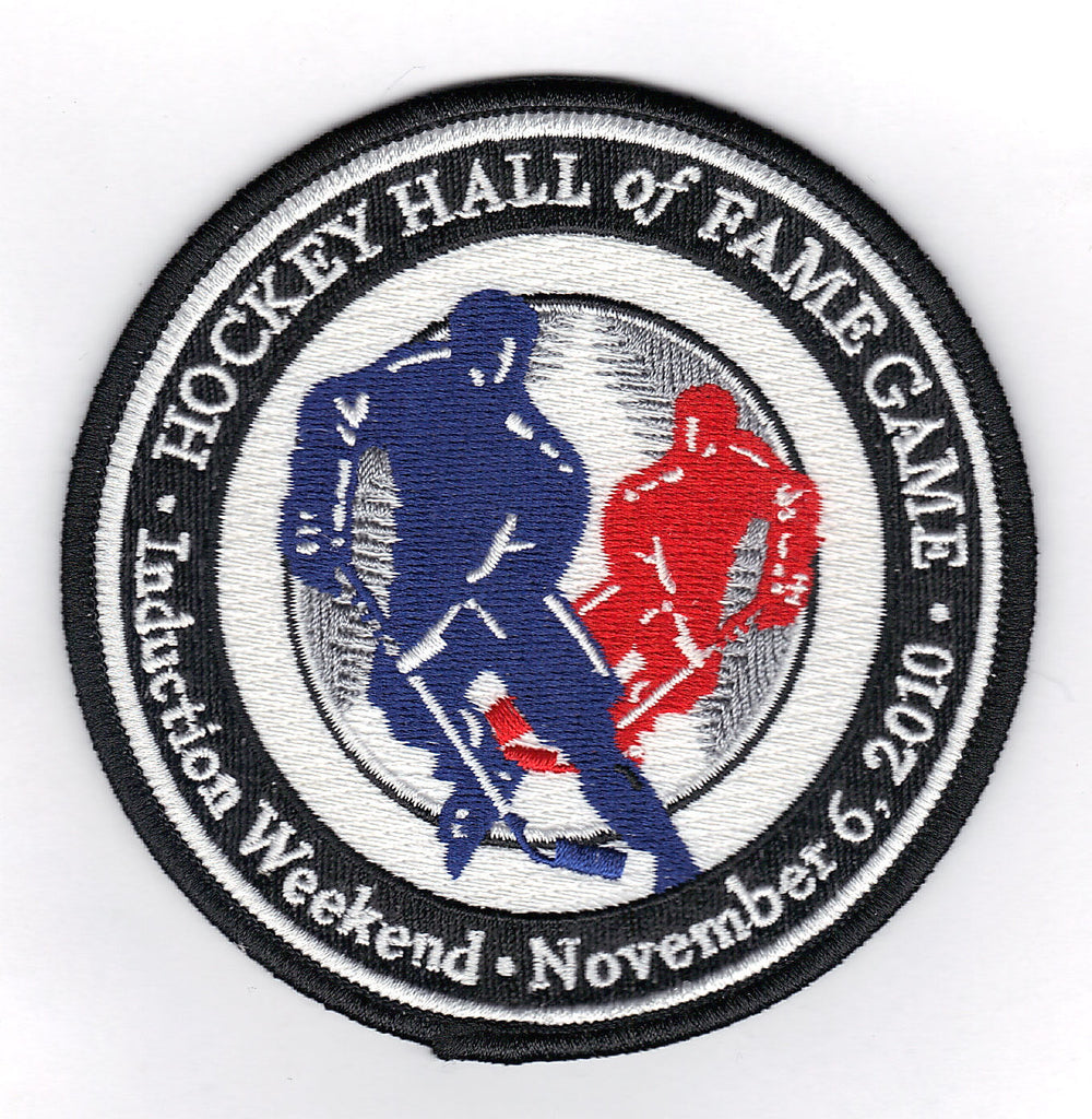 2010 Hockey Hall OF Fame Game Logo Jersey Patch (Buffalo Sabres & Toronto Maple Leafs)