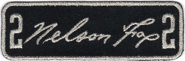 Chicago White Sox Nelson Fox Memorial Patch (1999)