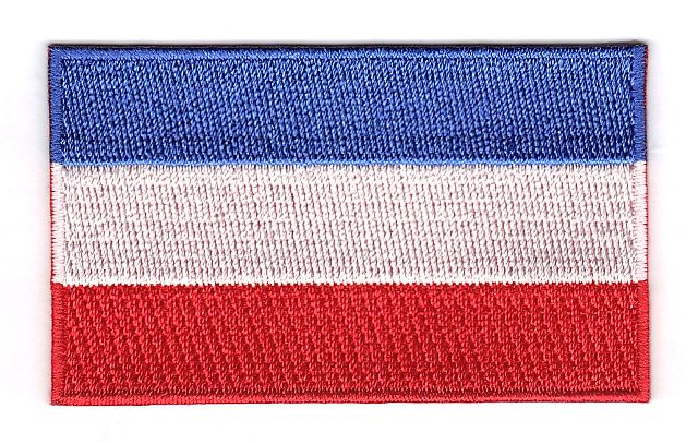 Netherlands Embroidered Country Flag Patch