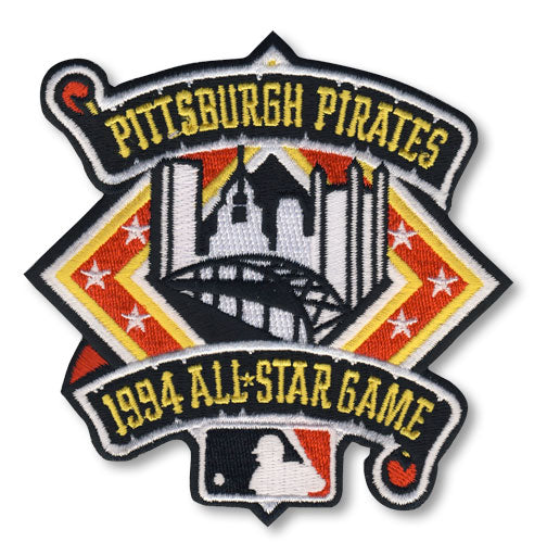 1994 MLB All Star Game Jersey Patch Pittsburgh Pirates