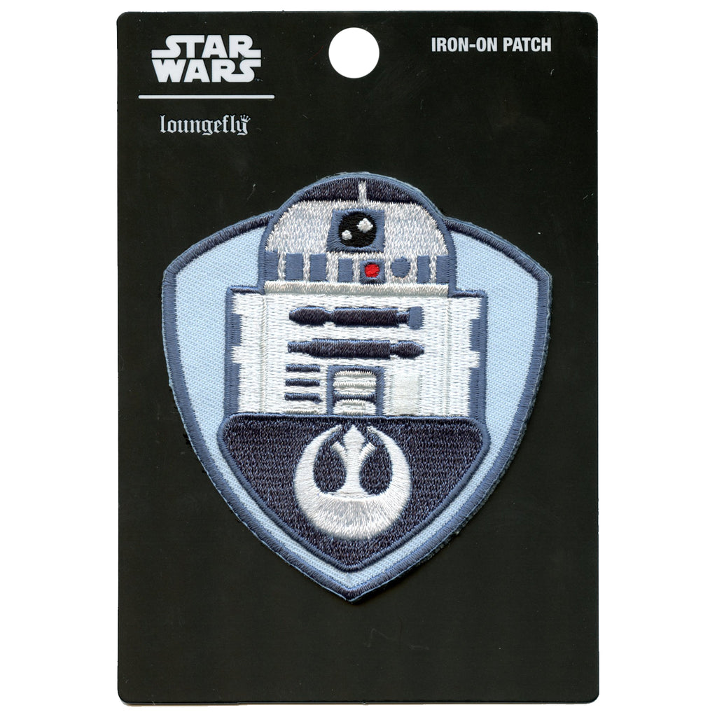 Official Star Wars R2-D2 Embroidered Iron On Patch