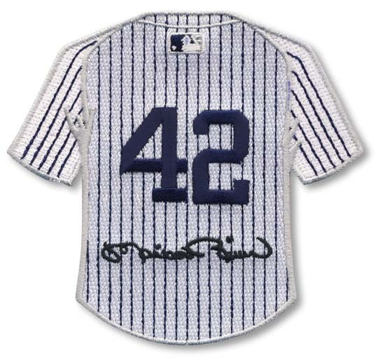 Mariano Rivera New York Yankees #42 with Signature Jersey Patch