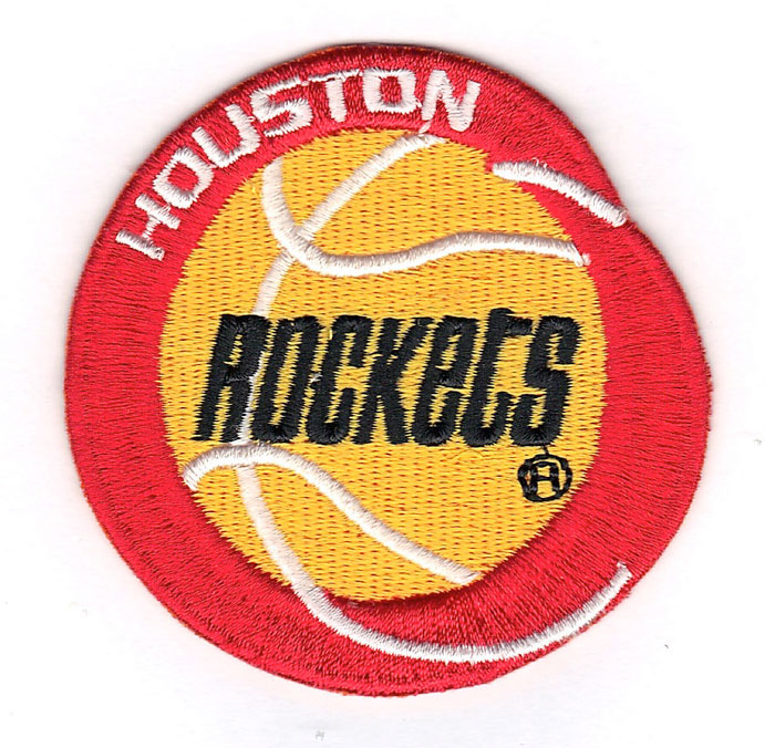 Houston Rockets Retro Primary Team Logo Patch