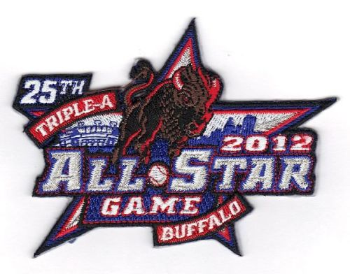 2012 MiLB 25th Triple-A All Star Game Buffalo Bisons Patch