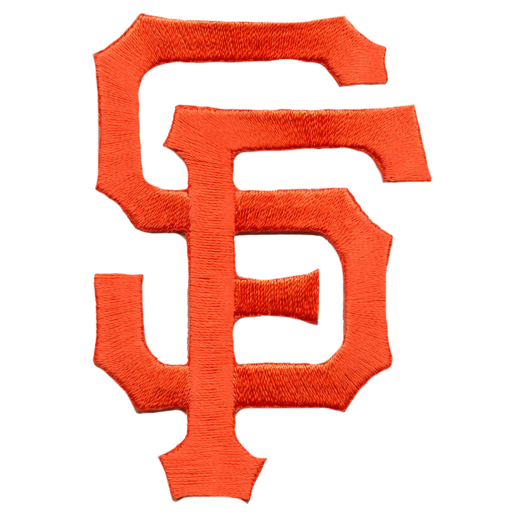 San Francisco Giants 'SF' Script Logo Patch