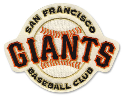 San Francisco Giants Home Cream Jersey Sleeve Patch