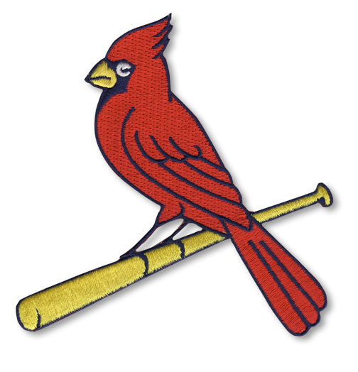St Louis Cardinals Alternate Team Logo Cardinal on Bat Patch