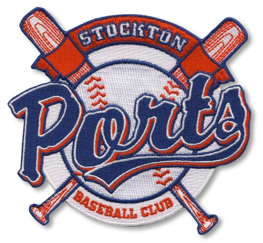 Stockton Ports Minor League Primary Team Logo Patch