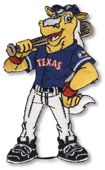 Texas Rangers Team Mascot 'Captain' Patch