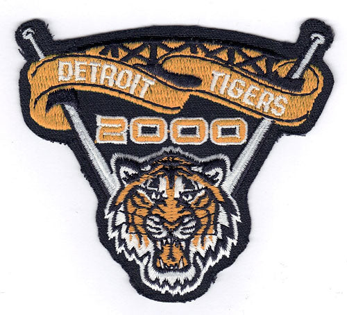 Detroit Tigers Inaugural Season of Comerica Park Patch (2000)