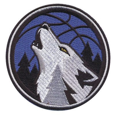 Minnesota Timberwolves Howling Wolf Alternate Logo (2008)