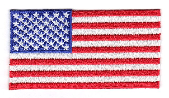 United States of America Embroidered Country Flag Patch