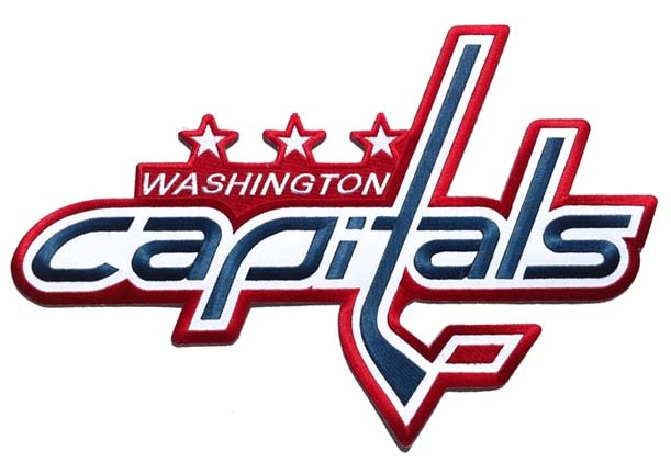 Washington Capitals Large Front Logo Patch (Red Home)