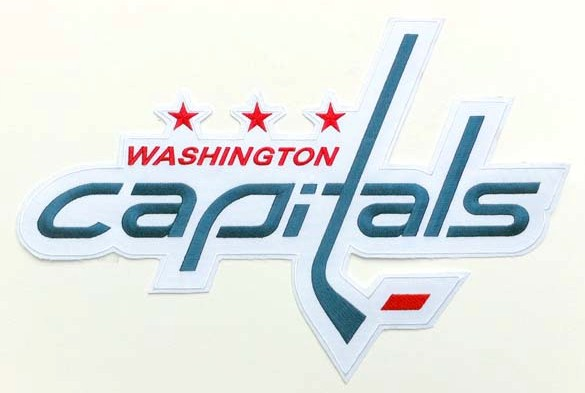 Washington Capitals Large Front Logo Patch (White Road)