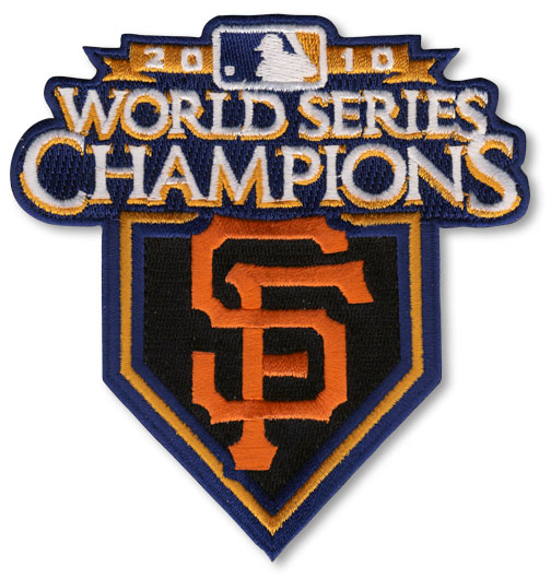 2010 San Francisco Giants MLB World Series Champions Jersey Patch