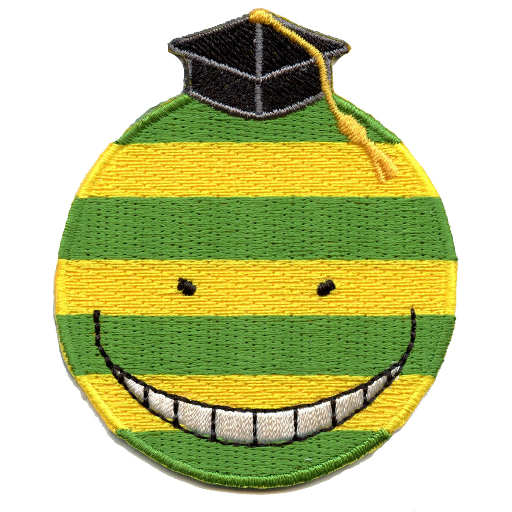 Anime Assassination Classroom: Confident Koro-Sensei Embroidered Patch