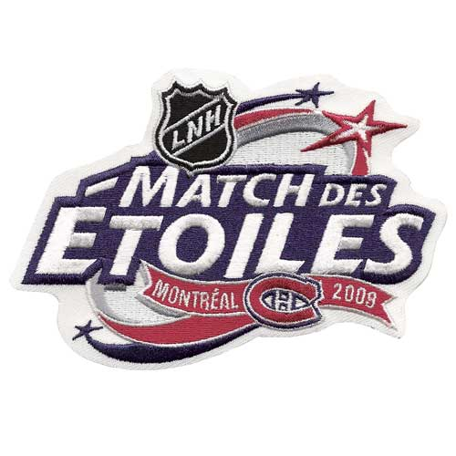 2009 NHL All-star Game Jersey Patch Montreal Canadiens French Version (Match Des Etoiles)