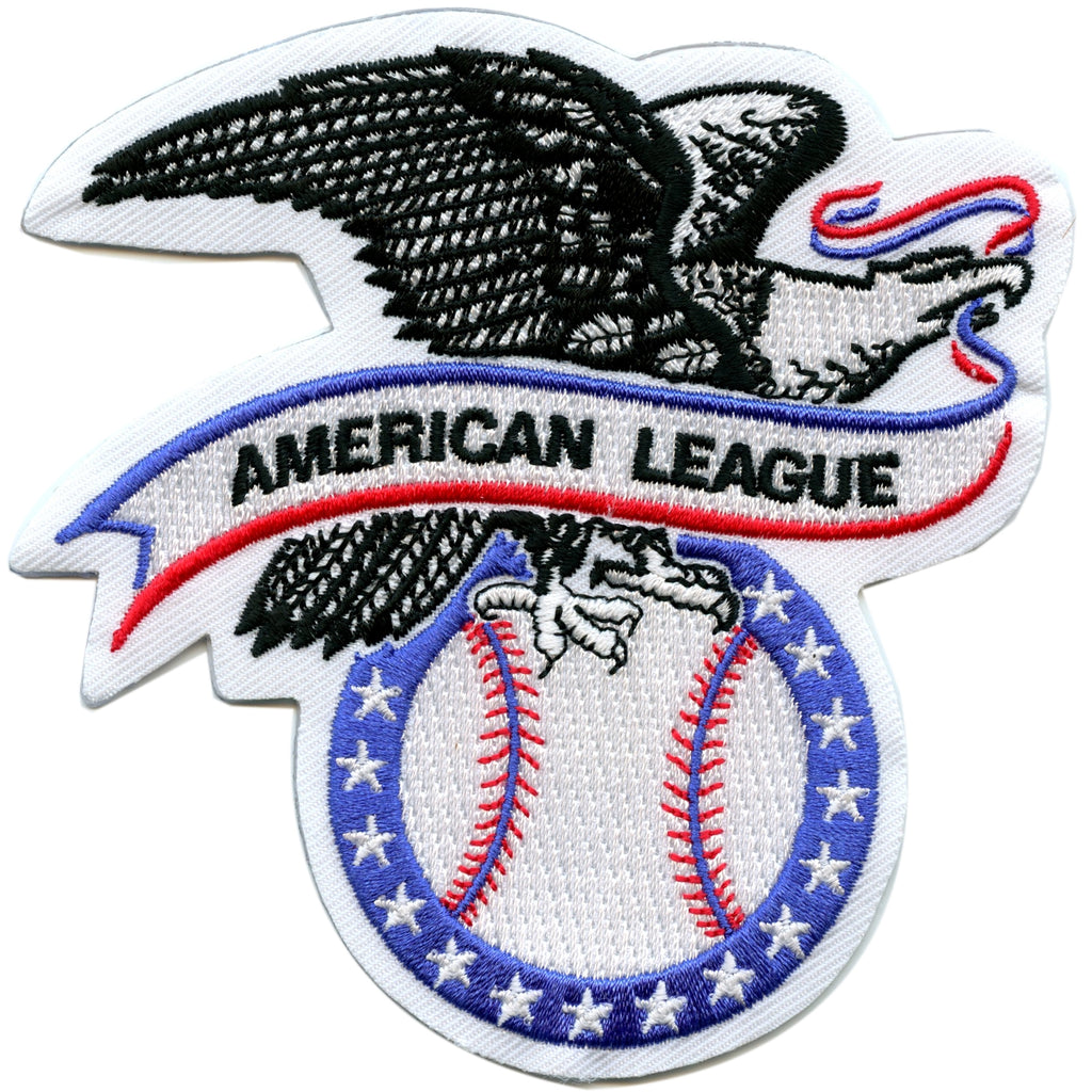 American League AL Logo Major League Baseball Patch