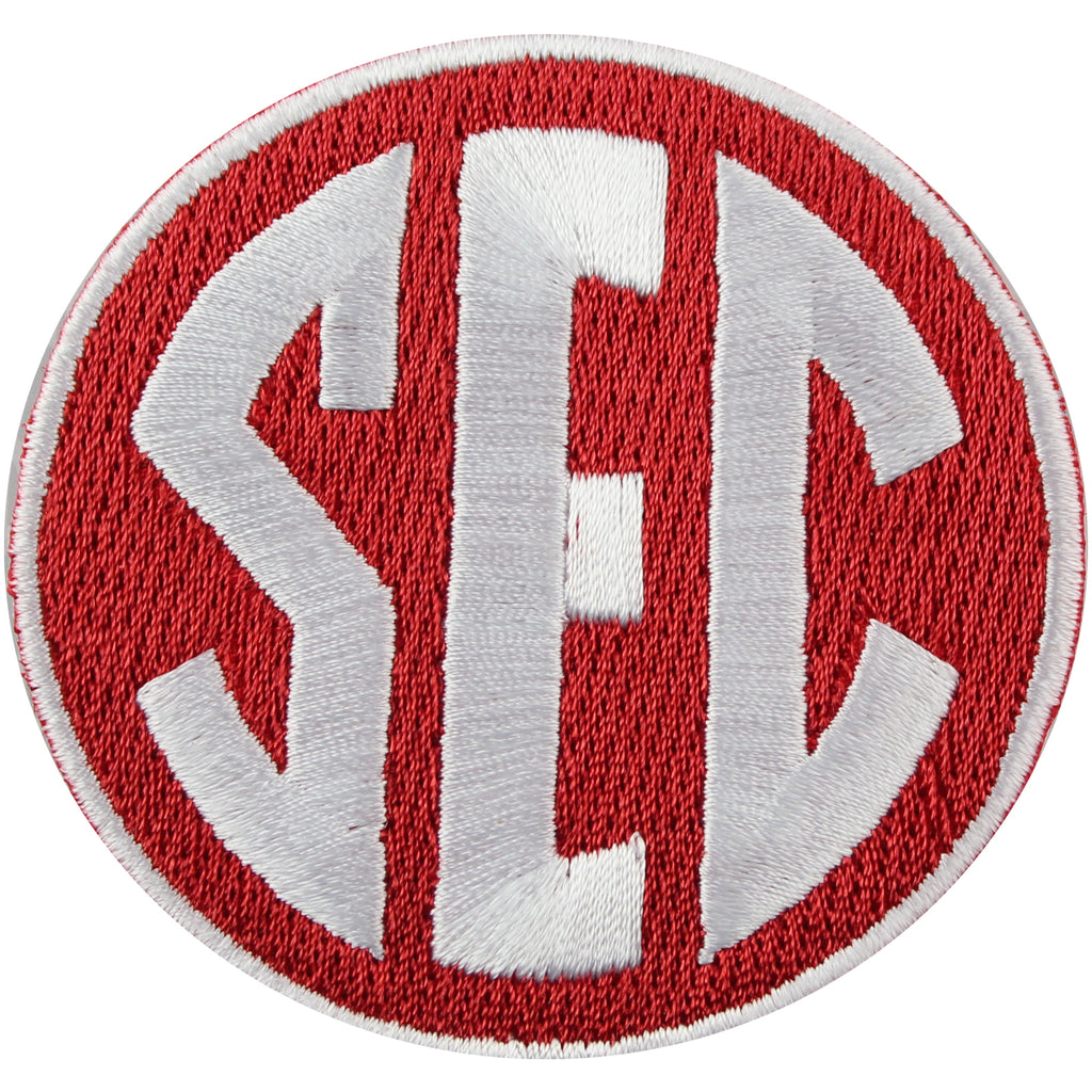 SEC Conference Team Jersey Uniform Patch Arkansas Razorbacks