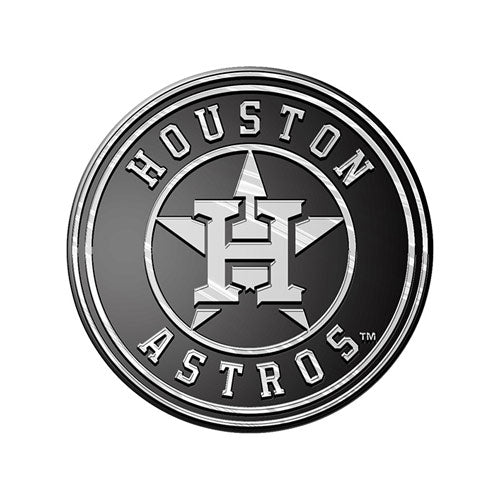 Houston Astros Car 3D Chrome Auto Emblem