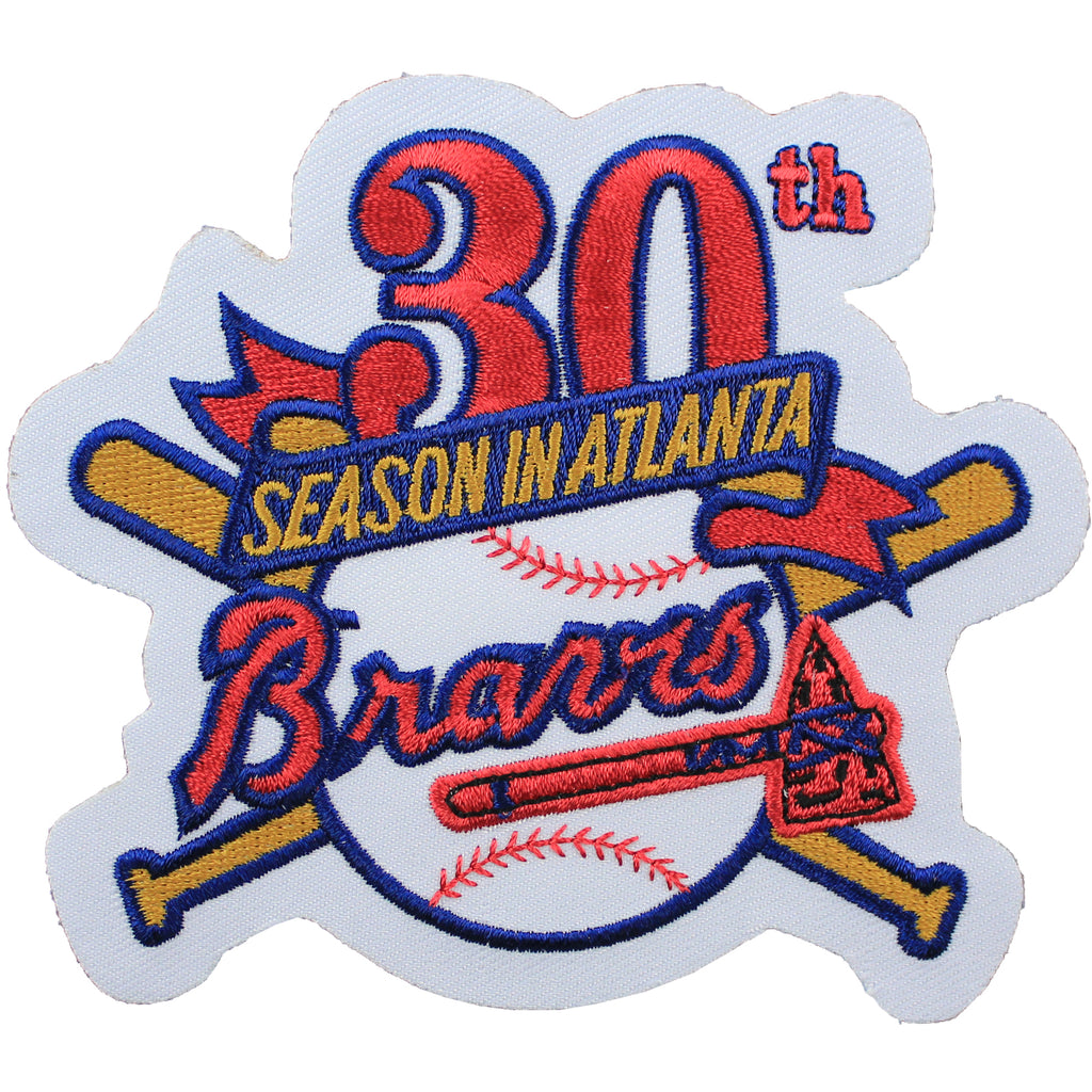 1995 Atlanta Braves 30th Anniversary Jersey Sleeve Patch