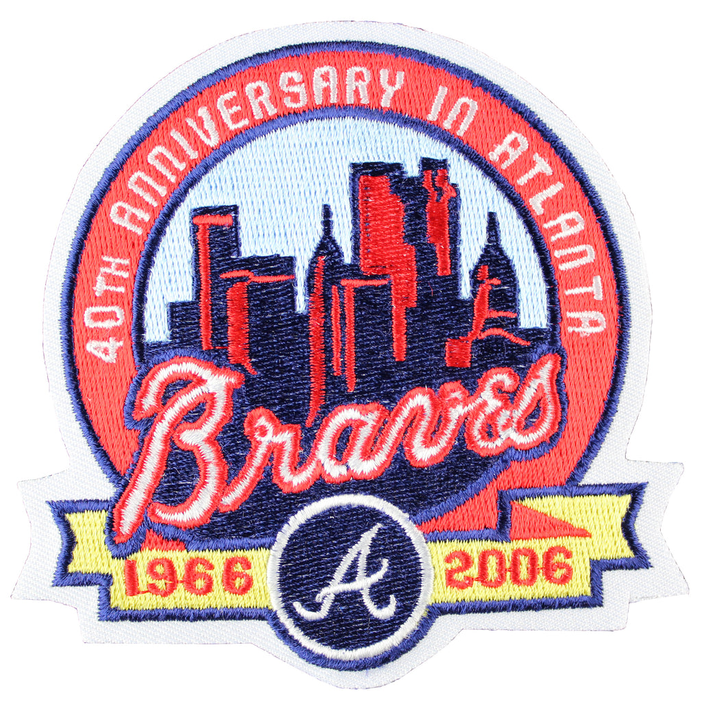 "2006 Atlanta Braves 40th Anniversary ""In Atlanta"" Patch"