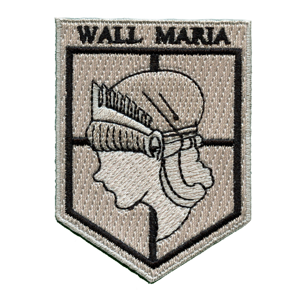 """Marvel Comics Attack On Titan Logo 3/"""" Wide Embroidered Patch"""