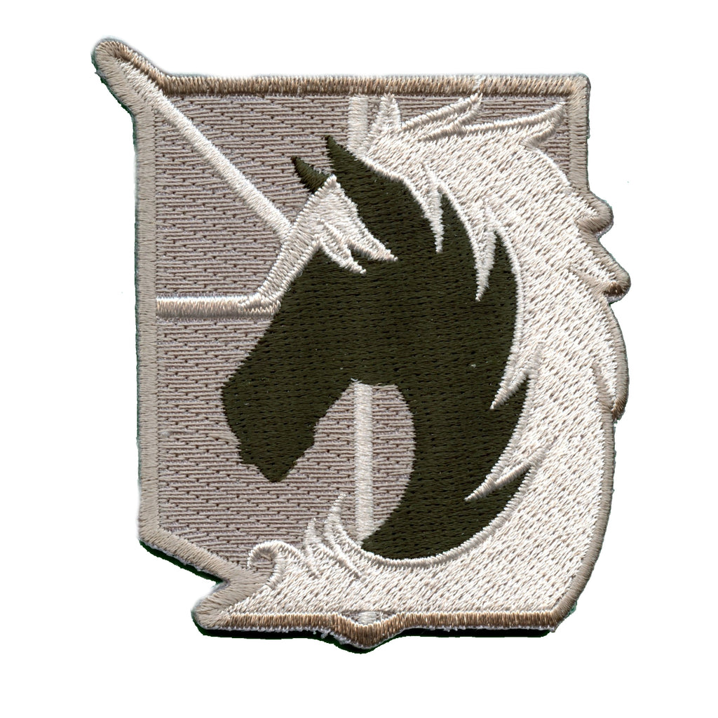 Attack On Titan Anime Military Police Embroidered Patch