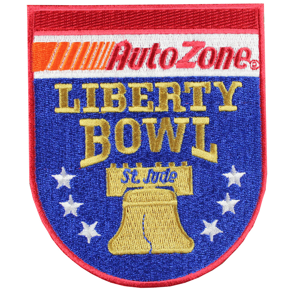 Auto Zone Liberty Bowl Game Jersey Patch Georgia Vs TCU 2016