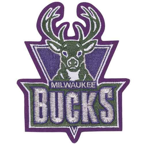 Milwaukee Bucks Primary Team Logo Patch