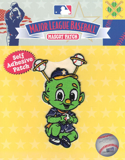Houston Astros Team Baby Mascot 'Orbit' Self-Adhesive Patch