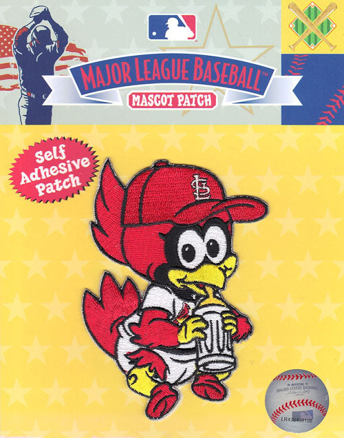 St. Louis Cardinals Team Baby Mascot 'Fredbird' Self-Adhesive Patch
